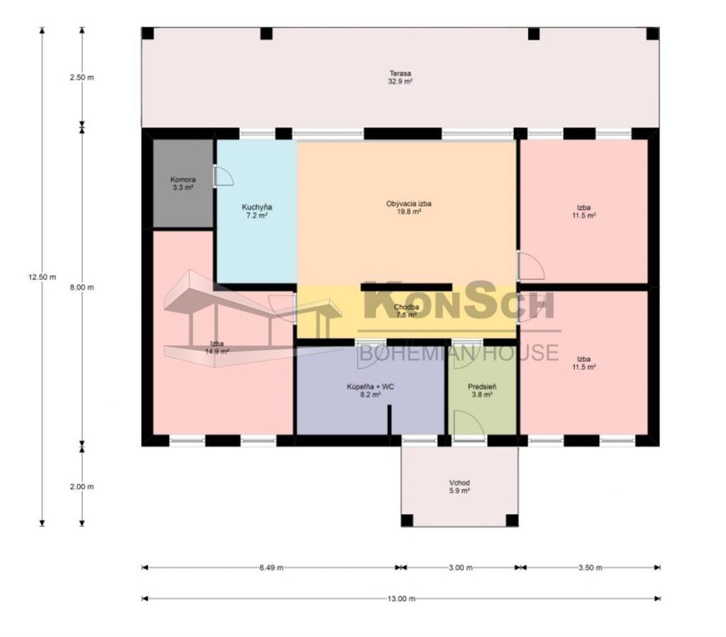 pôdorys, dispozícia, návrh domu